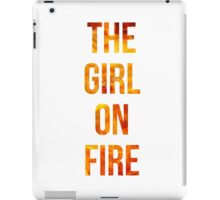 The Girl on Fire iPad Case/Skin