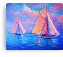 Calm Breeze Canvas Print