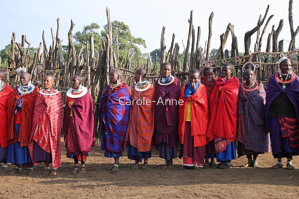 Maasai (Masai) Women of Kenya & Tanzania  by Carole-Anne