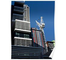 New Buildings Rising Poster