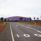 Road to the rock - Uluru, Northern Territory by DashTravels