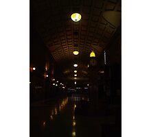 Midnight Arcade Photographic Print