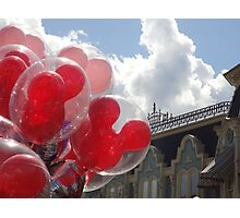 Main Street Balloons Photographic Print