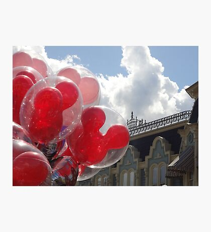 Main Street Balloons Photographic Print