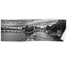 Pont neuf boating Poster