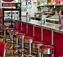 Retro Diner by Missy Corrales