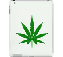 Cannabis Leaf iPad Case/Skin