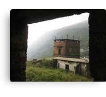 Army Barracks  Canvas Print