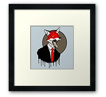 Sly Old Fox Framed Print