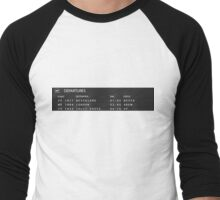 Flight to Neverland Men's Baseball ¾ T-Shirt