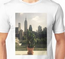 NYC Window Sill Unisex T-Shirt