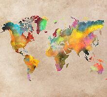 World map 1 by JBJart