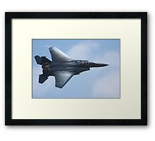 American F -15 Strike Eagle Framed Print