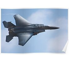 American F -15 Strike Eagle Poster