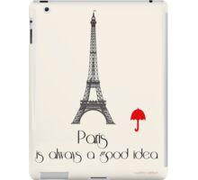 Paris Travel iPad Case/Skin