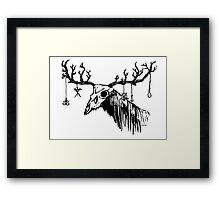 Wendigo Framed Print