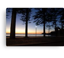 Manly before Dawn Canvas Print
