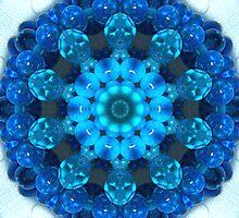 Betty Blue Bracelet Kaleidoscope by Erica Long