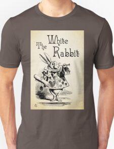 Alice in Wonderland -  The White Rabbit - Lewis Carroll Quote - 0194 Unisex T-Shirt