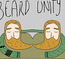 Bearded men unity by Scott Barker