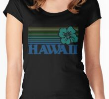 Hawaii Women's Fitted Scoop T-Shirt