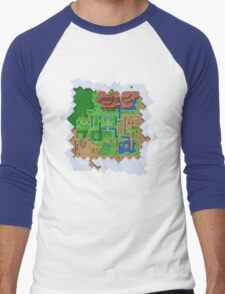 Realms of Hyrule Men's Baseball ¾ T-Shirt
