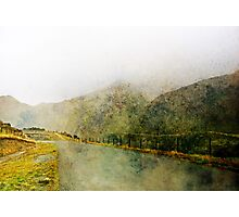 Along the Foggy Road Photographic Print