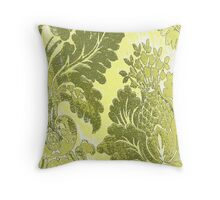 colored clothes Throw Pillow