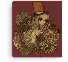 A Very Dapper Bird Canvas Print