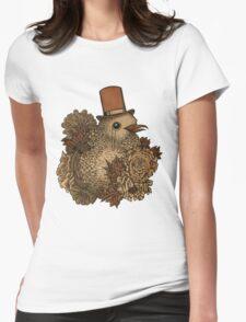 A Very Dapper Bird Womens Fitted T-Shirt