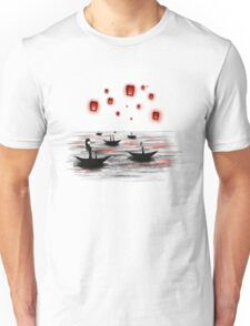 Boats and Lanterns Unisex T-Shirt