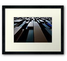 LeanLines Framed Print