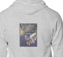 Destruction Zipped Hoodie