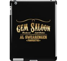 Gem Saloon vintage iPad Case/Skin