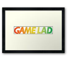 Gamelad- no back Framed Print