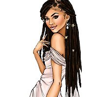 Zendaya Barbie doll by Kendrickree11
