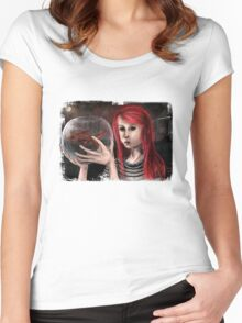 Fish Girl Women's Fitted Scoop T-Shirt