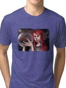 Fish Girl Tri-blend T-Shirt