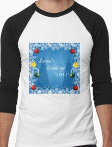 Season's Greetings 2015 Men's Baseball ¾ T-Shirt