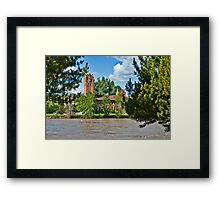 The Milwaukee Station from Caras Park Framed Print