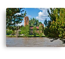 The Milwaukee Station from Caras Park Canvas Print
