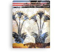 "Minoan Sea Daffodils ""Lilies"" Fresco Art Canvas Print"
