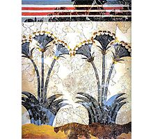"Minoan Sea Daffodils ""Lilies"" Fresco Art Photographic Print"