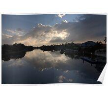 Daybreak reflexion Poster