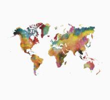 world map 3 Kids Clothes