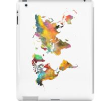 world map 3 iPad Case/Skin