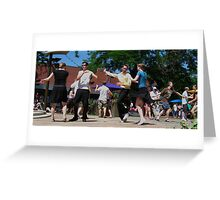 Park Swing Greeting Card