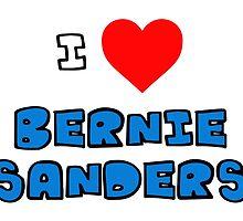 I Heart Bernie Sanders by PingusTees