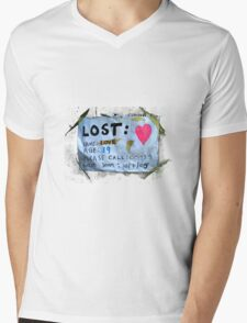 Lost Mens V-Neck T-Shirt