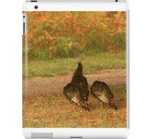 Wild Turkeys iPad Case/Skin